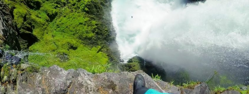 INSANE CLIFF JUMP!  *Nearly Drowns* 4K