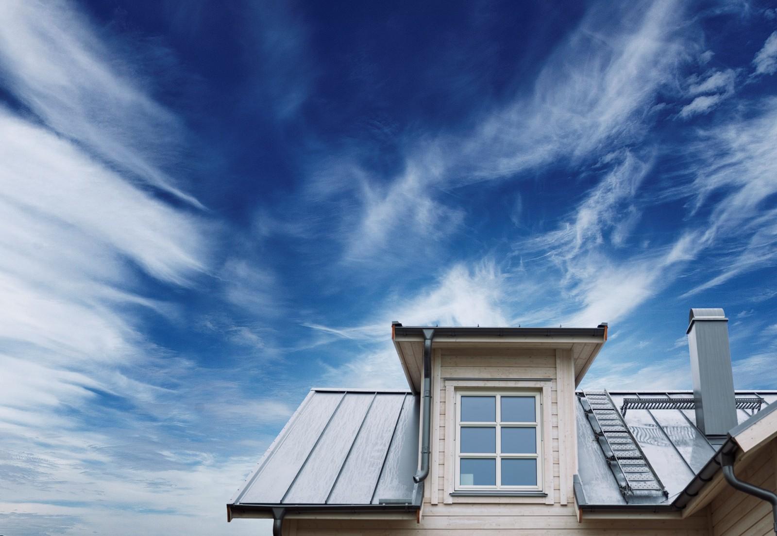 Hemleverans av tak