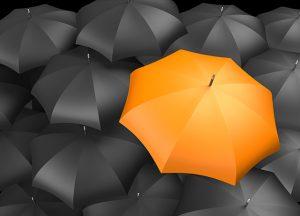 orangea paraplyet