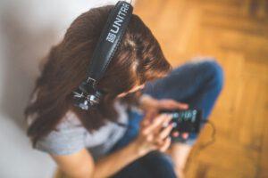 lyssna på ljudbok